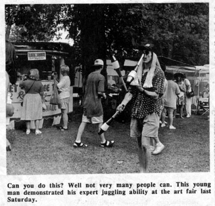 Art Fair - The Courier-Wedge 7/20/95