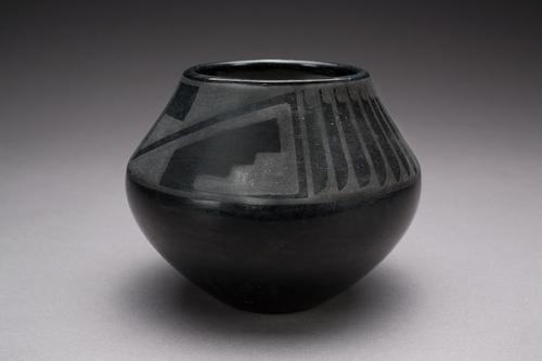 Native American Black Pottery