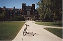 Bike in front of Nourse Dormitory