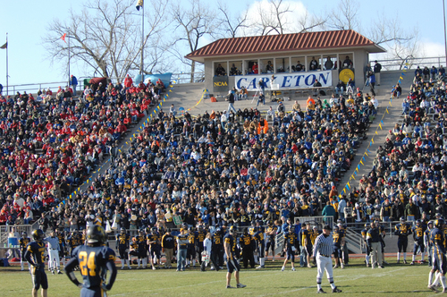 Laird Stadium Crowd, football action