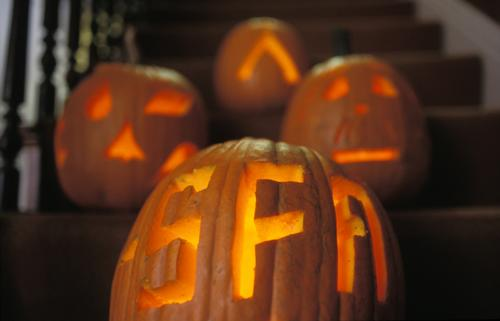 Science Fiction and Fantasy Alliance jack-o-lantern