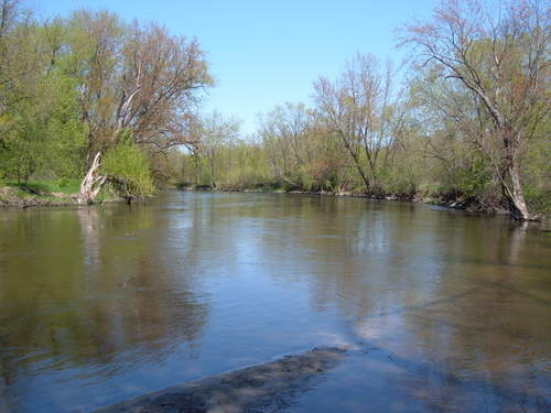 Cannon River in spring