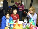 Gyoza night, winter 2009