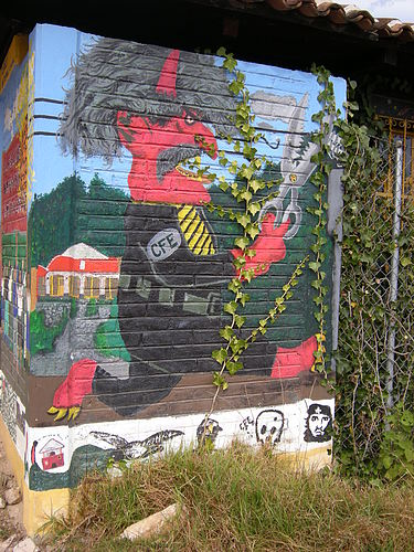 My adventure in zapatista country carleton now for Mural zapatista