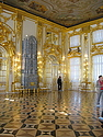 The interior of one of the main reception rooms in Catherine's Palace