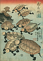 Kuniyoshi, <em>Turtle Fun</em>