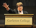 Sister Helen Prejean speaks at the Opening Convocation of Winter Term 2011.