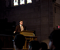 Jesse Schell, Assistant Professor at Carnegie Mellon gave last Friday's convocation on games.