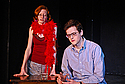 Emily Foster '12 and Ben Stroup '14 act out their show in Little Nourse theater.