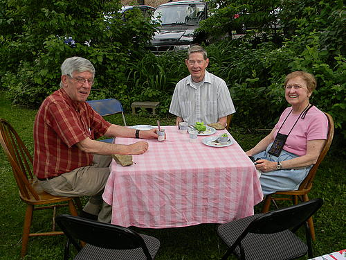 Dacie House Picnic, June 2011