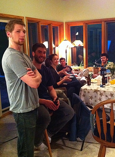 David, Matt, Claire, Cory and Sam