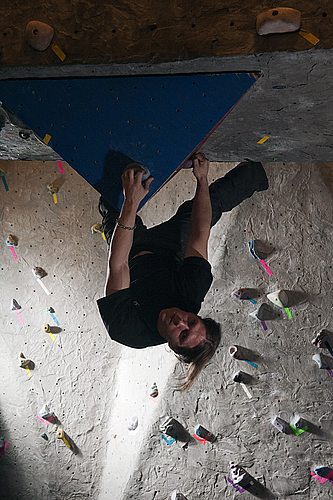 Hanging around in the Bouldering Cave