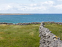 Stone wall on Inis Mor