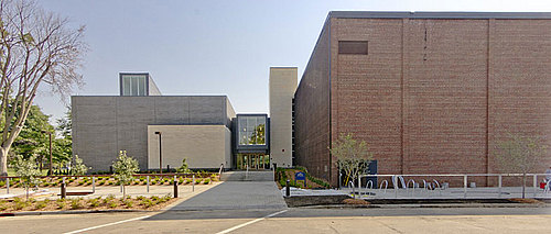 Weitz Center for Creativity, North entrance