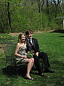 Tim and Julia go to prom, spring 2010