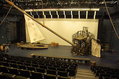 The Tempest set in process