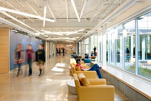 Hallway Amp Courtyard Weitz Center For Creativity