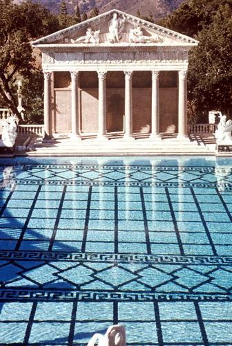 Neptune Pool Hearst Castle Visions Of California Carleton College