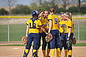 Softball Action, Carleton College