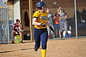 Claire Willeck, Softball Action, Carleton College