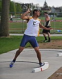 Men's Track and Field action