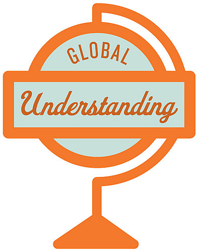 global understanding illustration