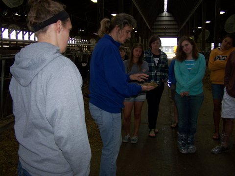 Wolf Creek Dairy field trip