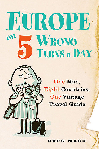 Europe on 5 Wrong Turns a Day cover