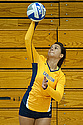 Camille Benson '16 led the Knights in digs.