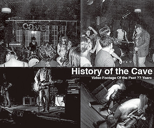 History of the Cave DVD cover