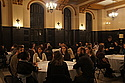 Students and faculty gathered in the Great Hall to discuss Wellstone's legacy.