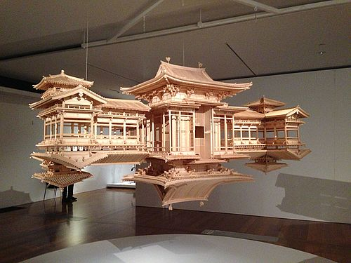 Wood Carving From The Gallery Of Modern Art