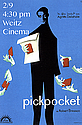 Film Society presents: Pickpocket. 2/9 at 4:30 in Weitz Cinema