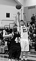 Tom Sawatzke '13 led the Knights with 19 points during their playoff matchup.