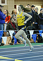 Anna Cich '16 was a member of Carleton's all freshman record-breaking 4x200 relay team.