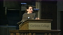 A placard image for media work Convocation: Anita Sarkeesian