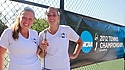 A placard image for media work Women's Tennis: 2012 NCAA Championships First Round vs. Grinnell
