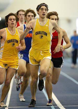 Williamson Reaches Qualifying Time At Tostrud Classic Varsity Athletics Carleton College