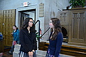 Poet Sarah Kay speaks with student Sarah Thappa '13
