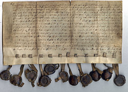 Norwegian Legal Verdict, dated 1553