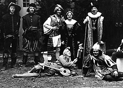 Shakespearean Actors, 1929