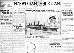 Norwegian-American Newspaper Cover, 1912