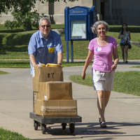 Parents love helping with move-in day!