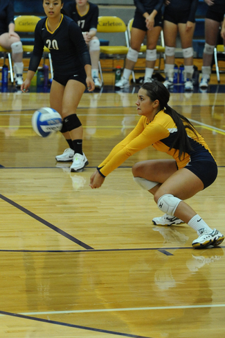 Camille Benson '16 earned the MIAC Defensive Player of the Year Award in 2014.