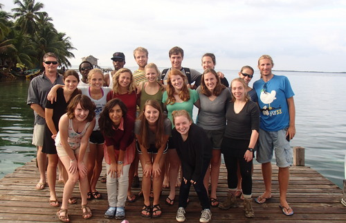 Biogeoscience in Belize Program - Winter 2013
