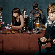 "Promotional poster for ""Hamlet,"" presented by London's Barbican Theatre"