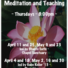 Buddhist Meditation - spring