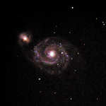 An image of M51 taken with the STT 8300M camera (2015)