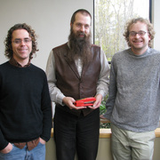 Featured from left to right are Matt Ryan, Mark Heiman, and Nate White.