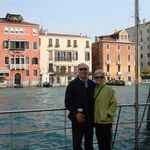 Steve and Penny in Venice